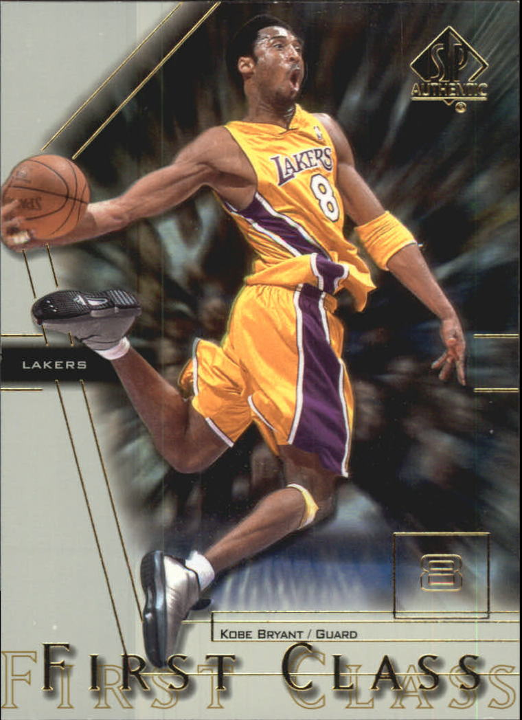 2000-01 SP Authentic First Class #FC7 Kobe Bryant