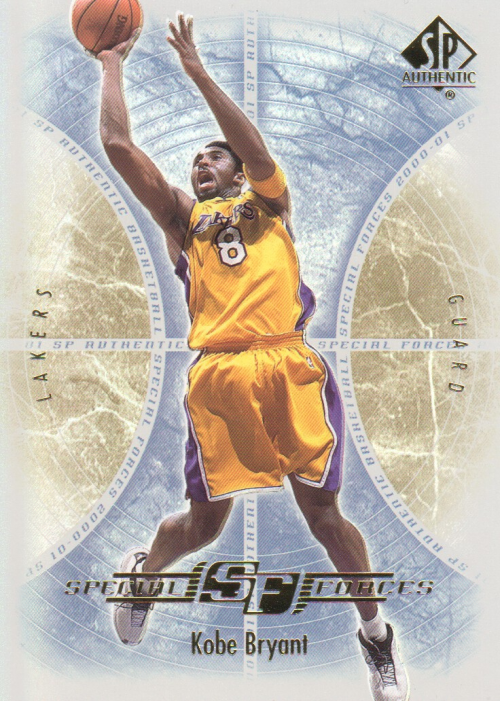 2000-01 SP Authentic Special Forces #SF1 Kobe Bryant