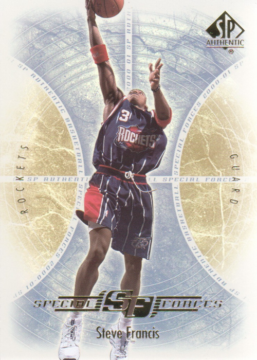 2000-01 SP Authentic Special Forces #SF2 Steve Francis