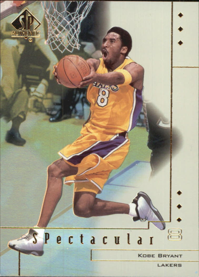 2000-01 SP Authentic Spectacular #SP1 Kobe Bryant