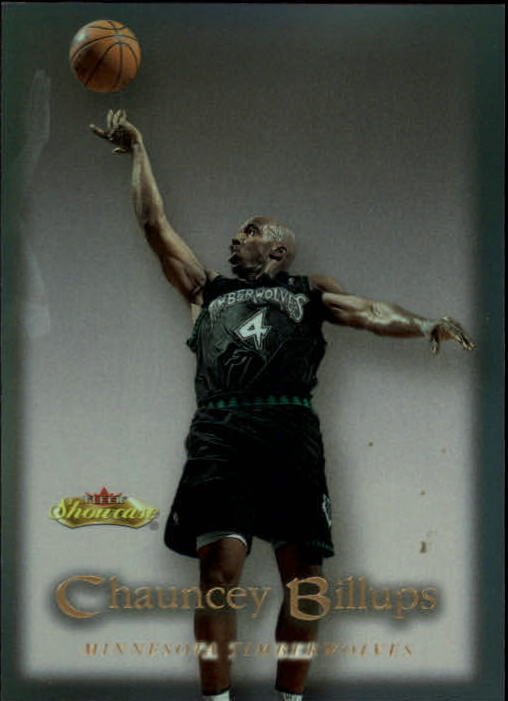 2000-01 Fleer Showcase #35 Chauncey Billups