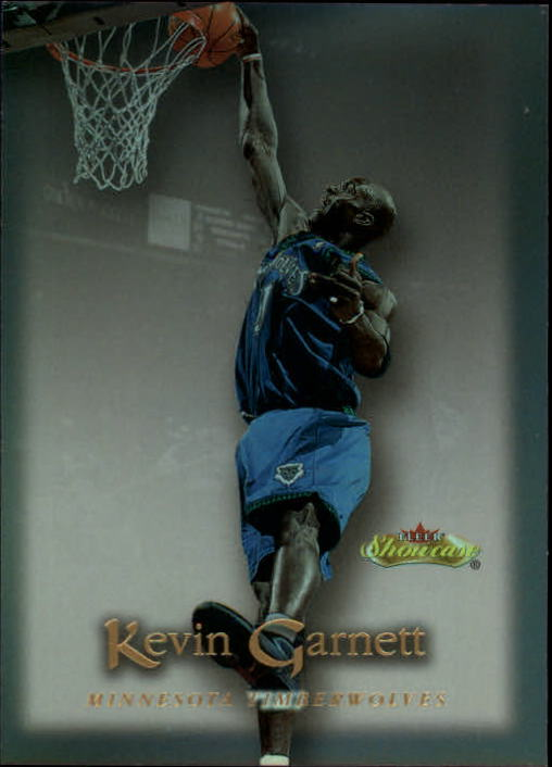 2000-01 Fleer Showcase #39 Kevin Garnett