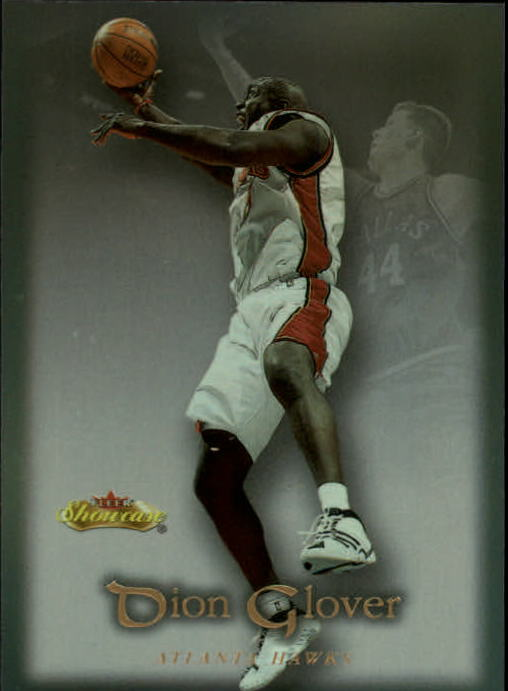 2000-01 Fleer Showcase #69 Dion Glover