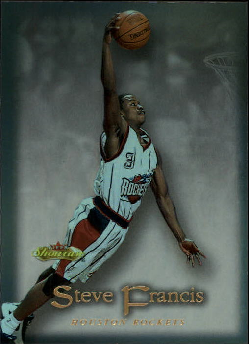2000-01 Fleer Showcase #71 Steve Francis