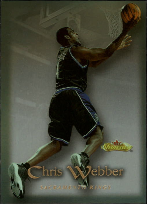 2000-01 Fleer Showcase #87 Chris Webber