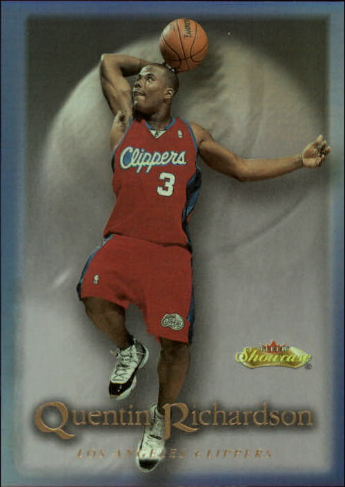 2000-01 Fleer Showcase #108 Quentin Richardson RC