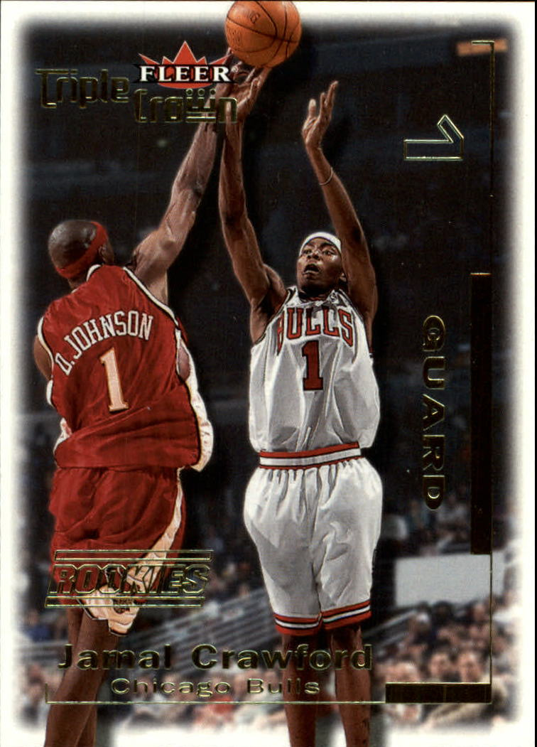 2000-01 Fleer Triple Crown #8 Jamal Crawford RC