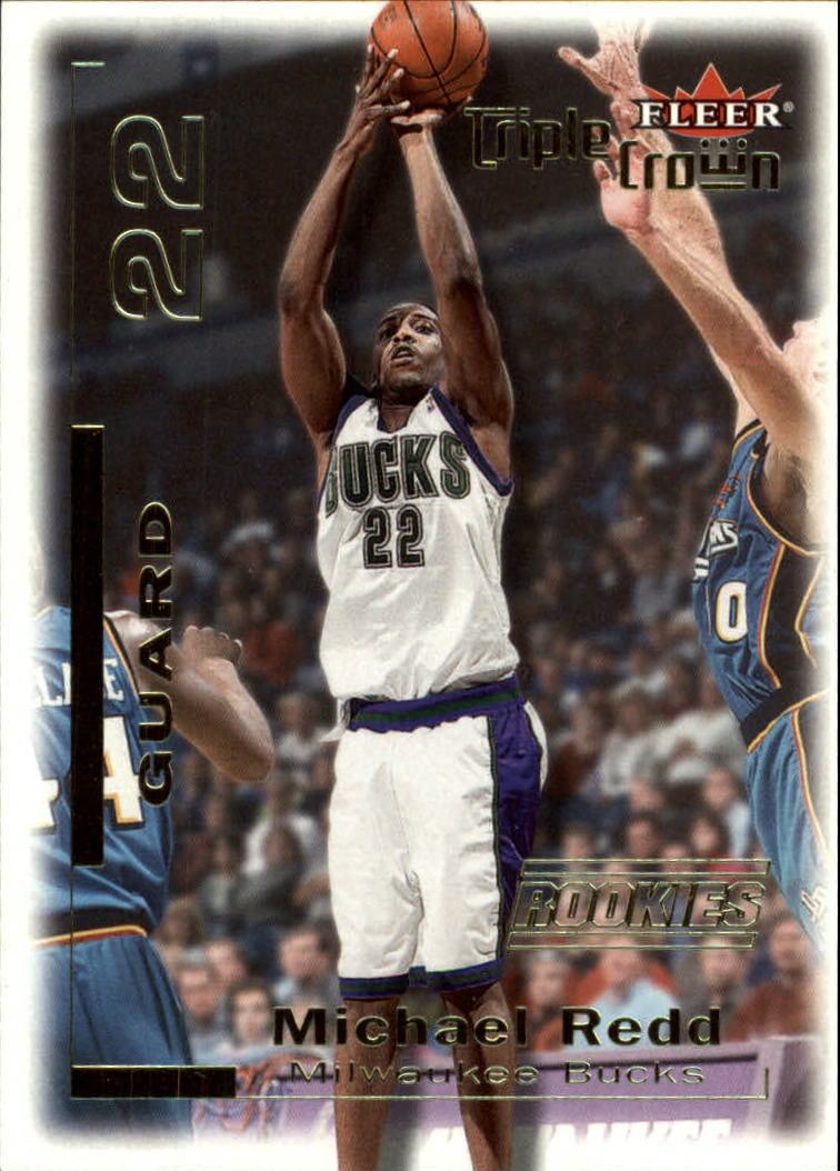 2000-01 Fleer Triple Crown #10 Michael Redd RC