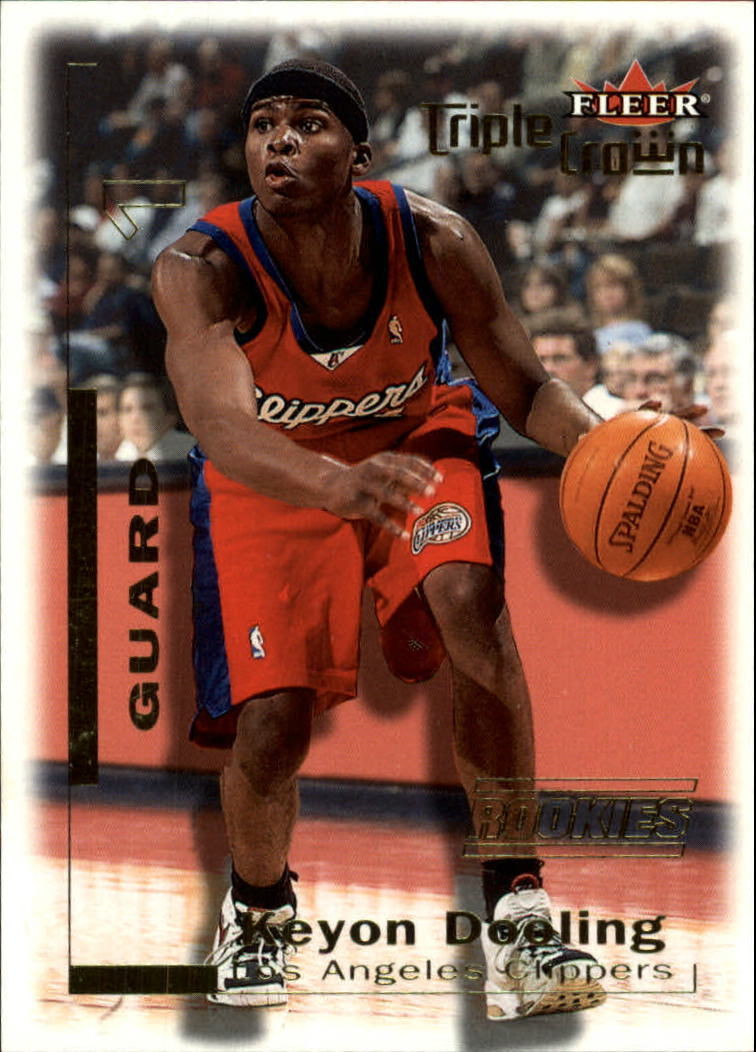 2000-01 Fleer Triple Crown #13 Keyon Dooling RC