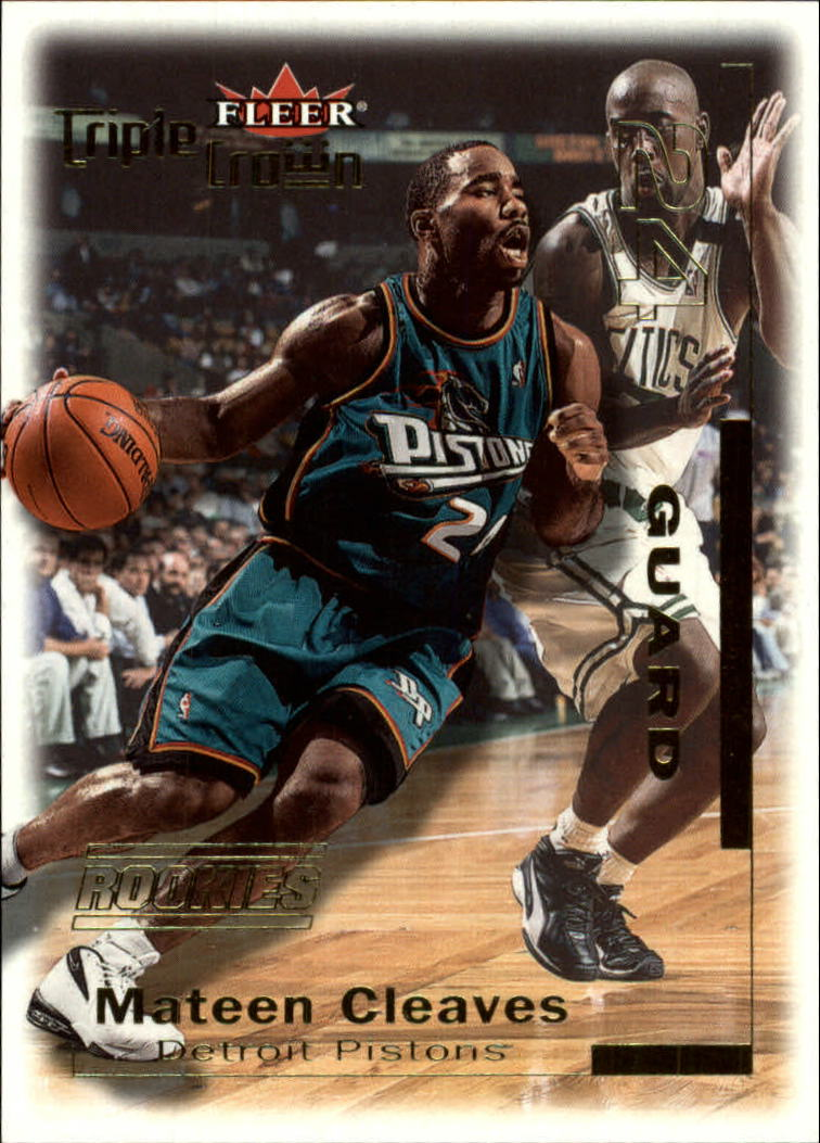 2000-01 Fleer Triple Crown #15 Mateen Cleaves RC
