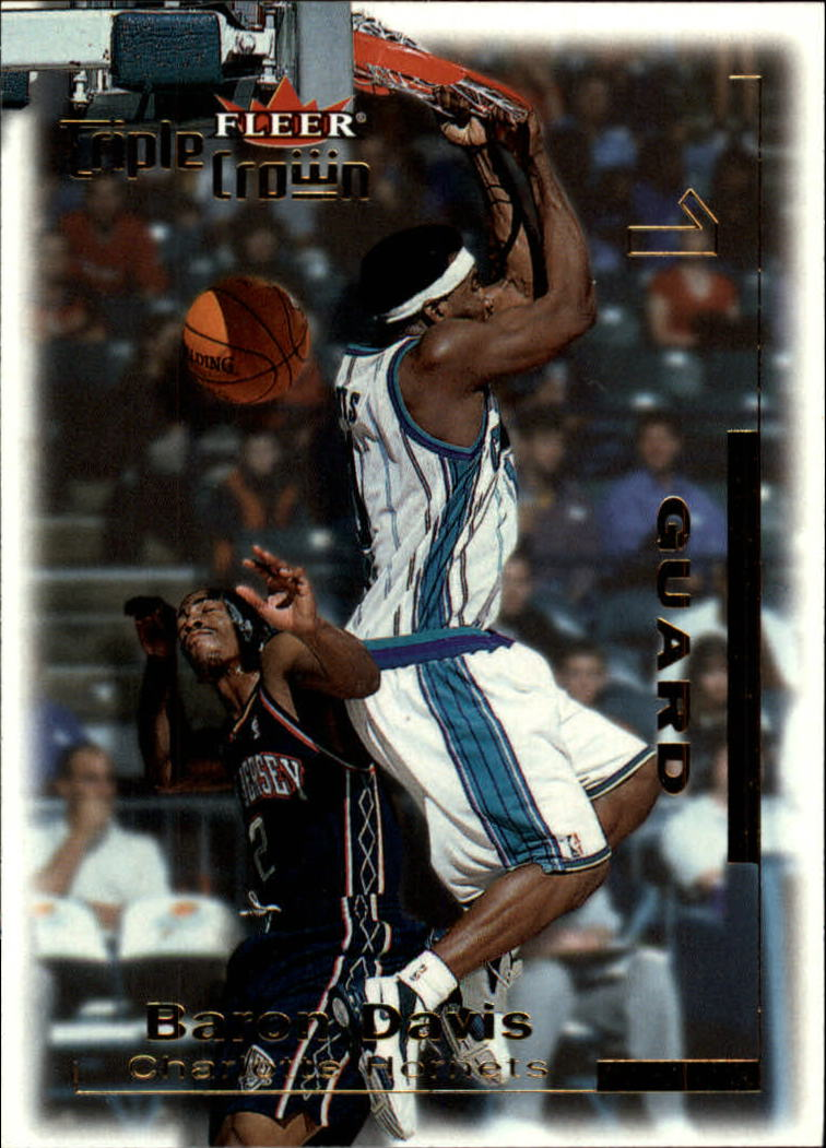 2000-01 Fleer Triple Crown #50 Baron Davis