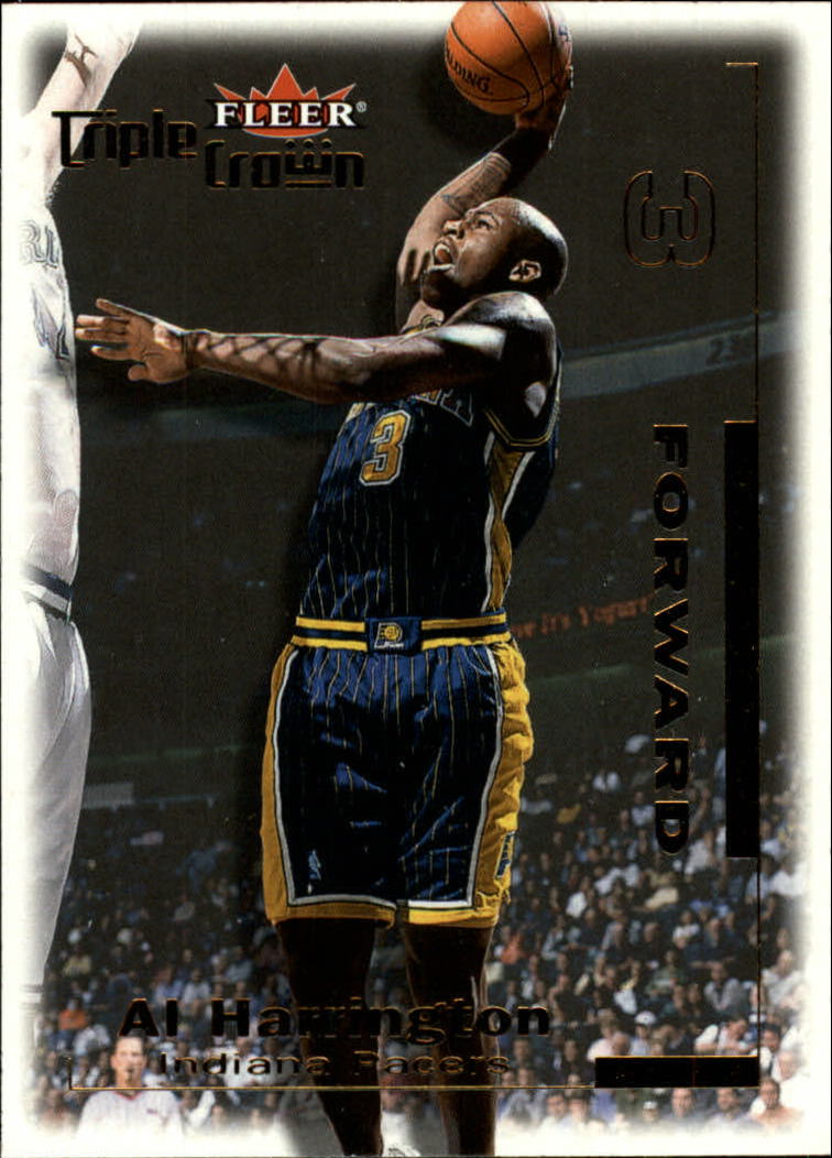 2000-01 Fleer Triple Crown #142 Al Harrington