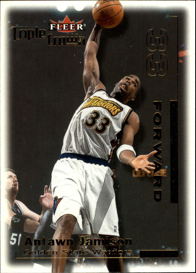 2000-01 Fleer Triple Crown #198 Antawn Jamison