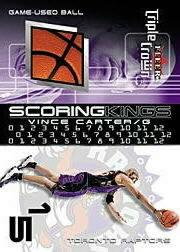 2000-01 Fleer Triple Crown Scoring Kings #SK1 Vince Carter