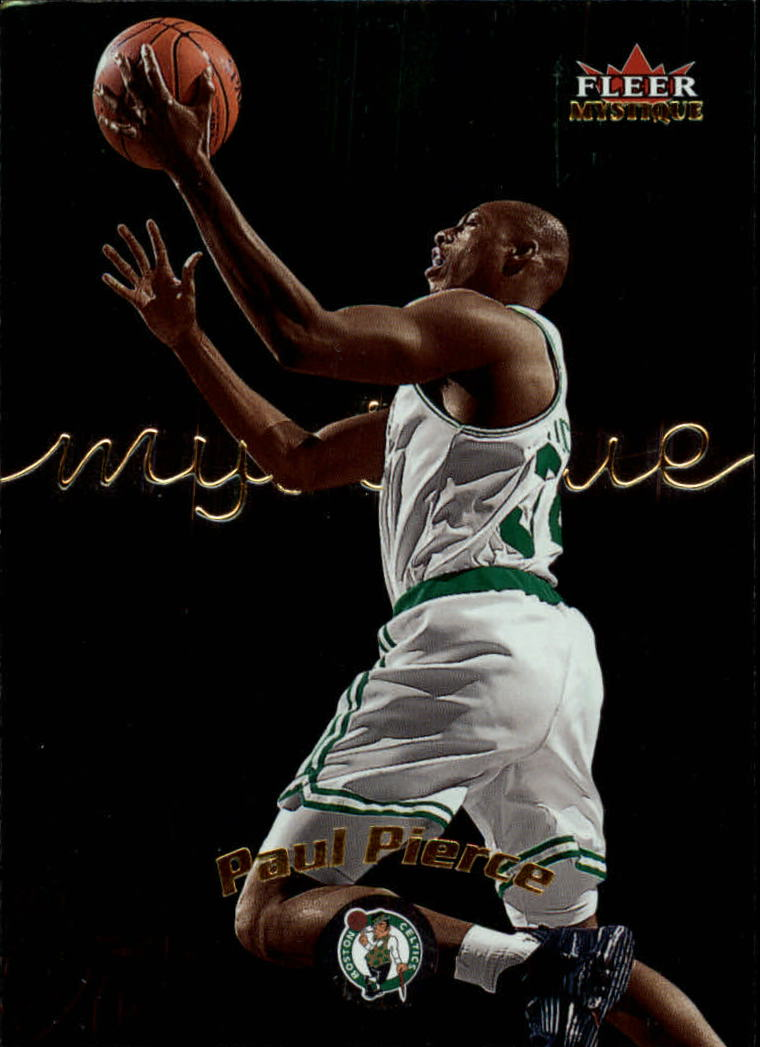 2000-01 Fleer Mystique #63 Paul Pierce
