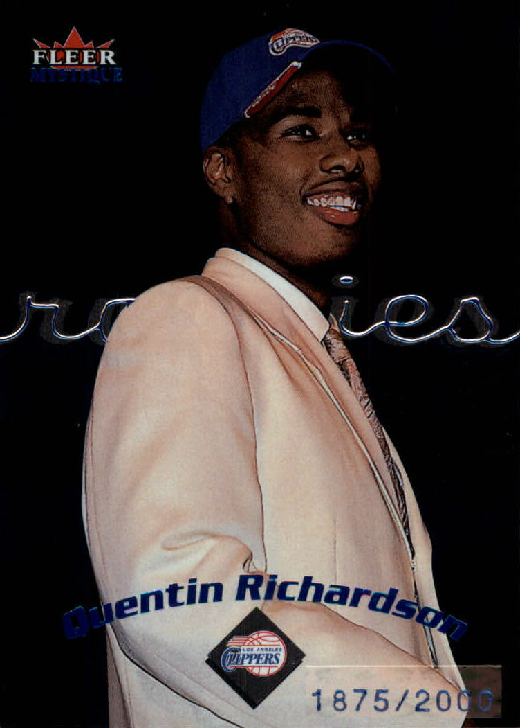 2000-01 Fleer Mystique #118 Quentin Richardson C RC