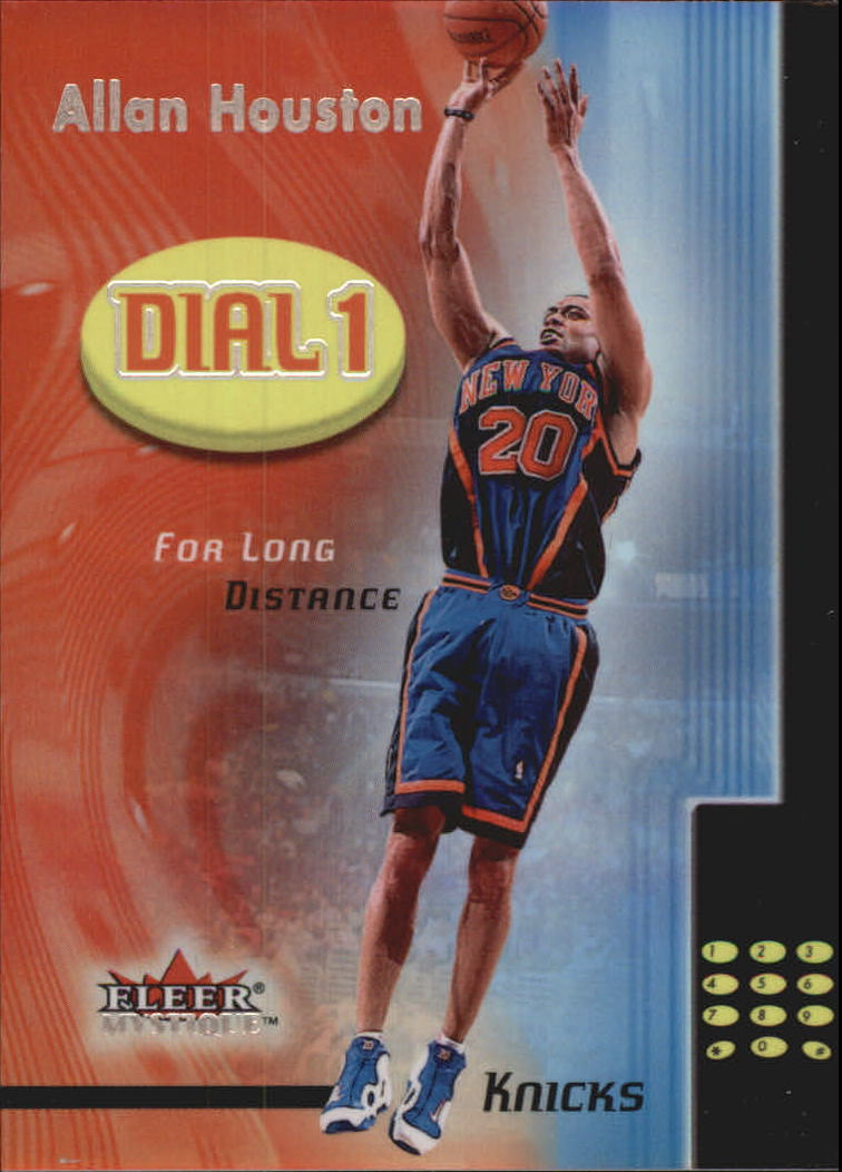 2000-01 Fleer Mystique Dial 1 #DO5 Allan Houston