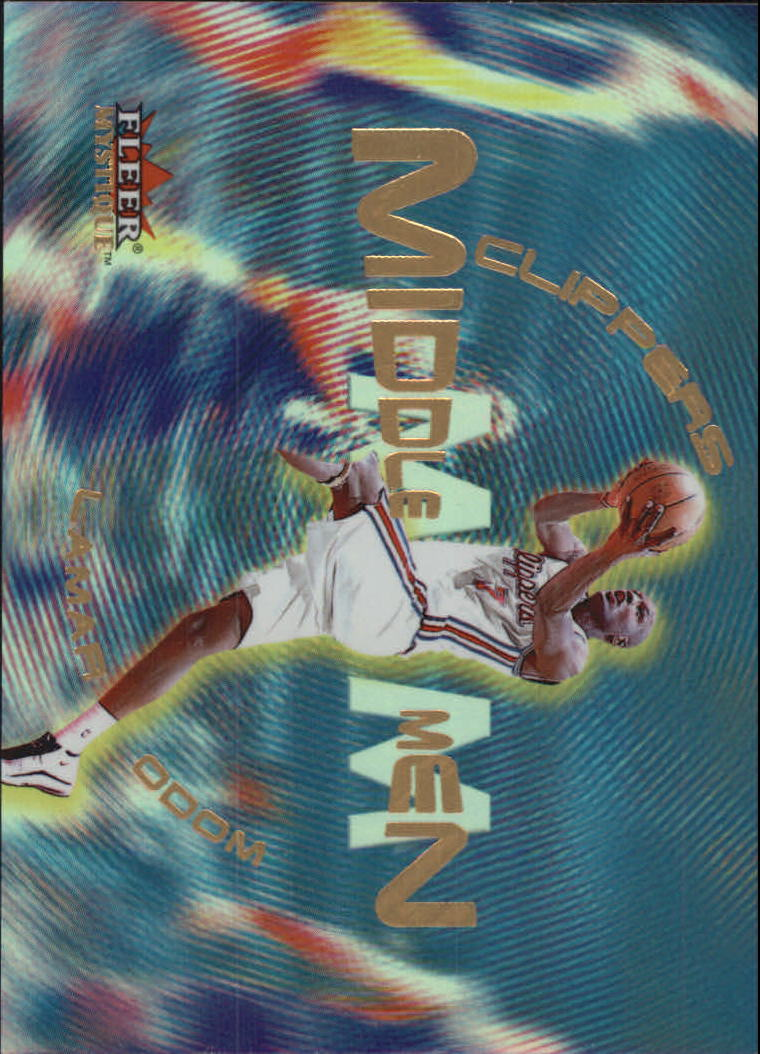 2000-01 Fleer Mystique Middle Men #MM10 Lamar Odom