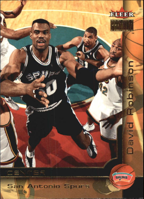 2000-01 Fleer Premium #14 David Robinson