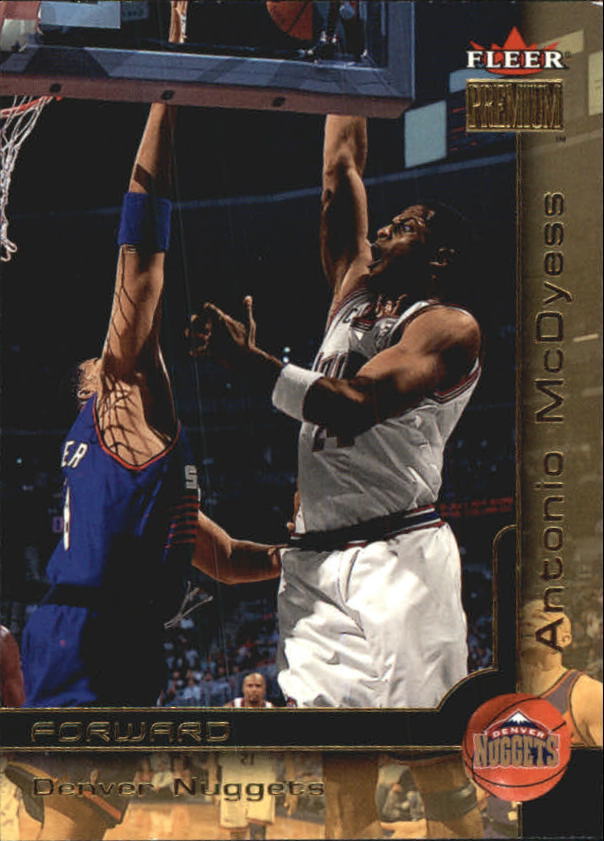 2000-01 Fleer Premium #25 Antonio McDyess