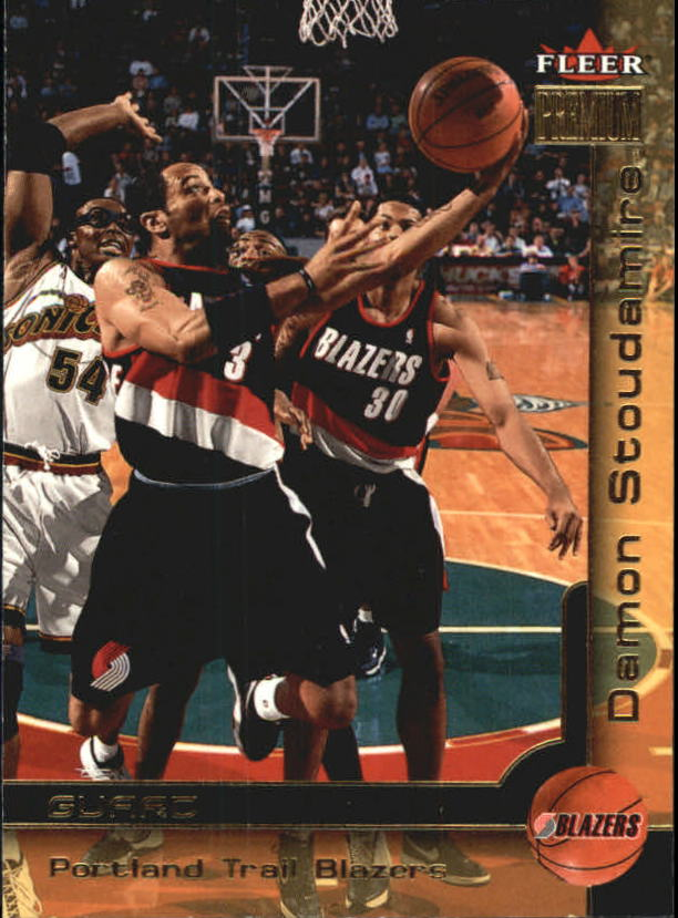 2000-01 Fleer Premium #39 Damon Stoudamire