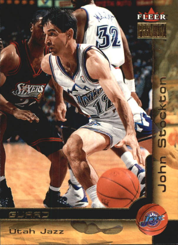 2000-01 Fleer Premium #41 John Stockton