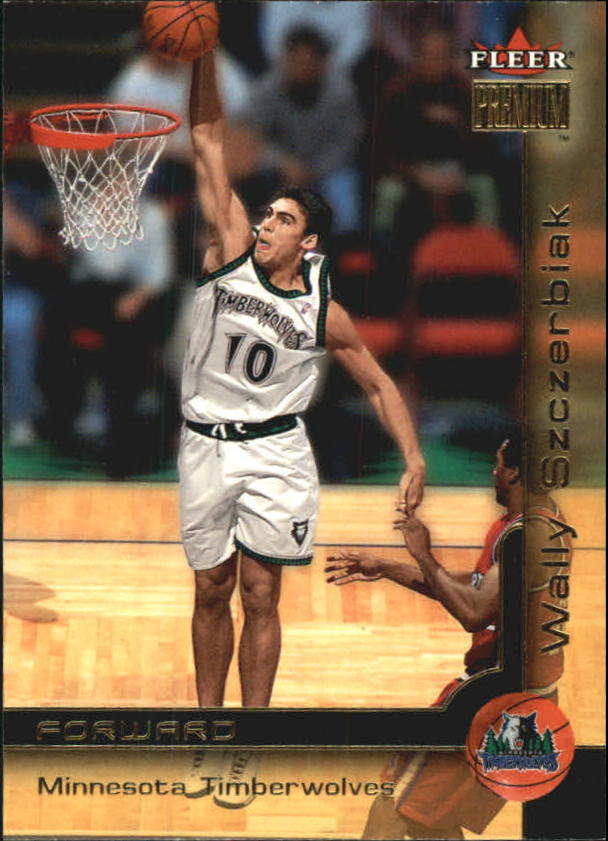 2000-01 Fleer Premium #64 Wally Szczerbiak