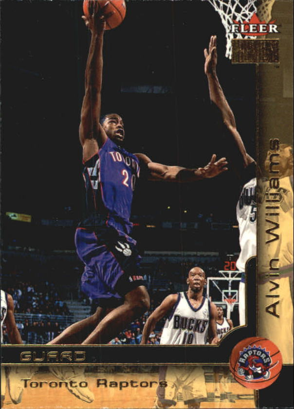 2000-01 Fleer Premium #74 Alvin Williams