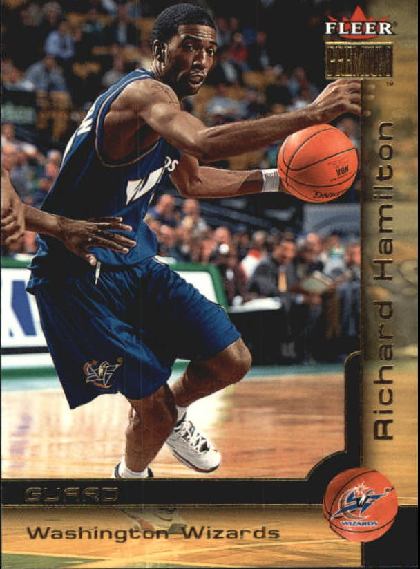 2000-01 Fleer Premium #82 Richard Hamilton