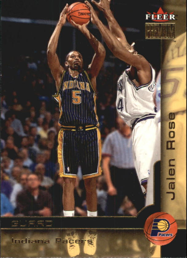 2000-01 Fleer Premium #85 Jalen Rose