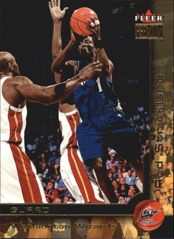 2000-01 Fleer Premium #95 Rod Strickland