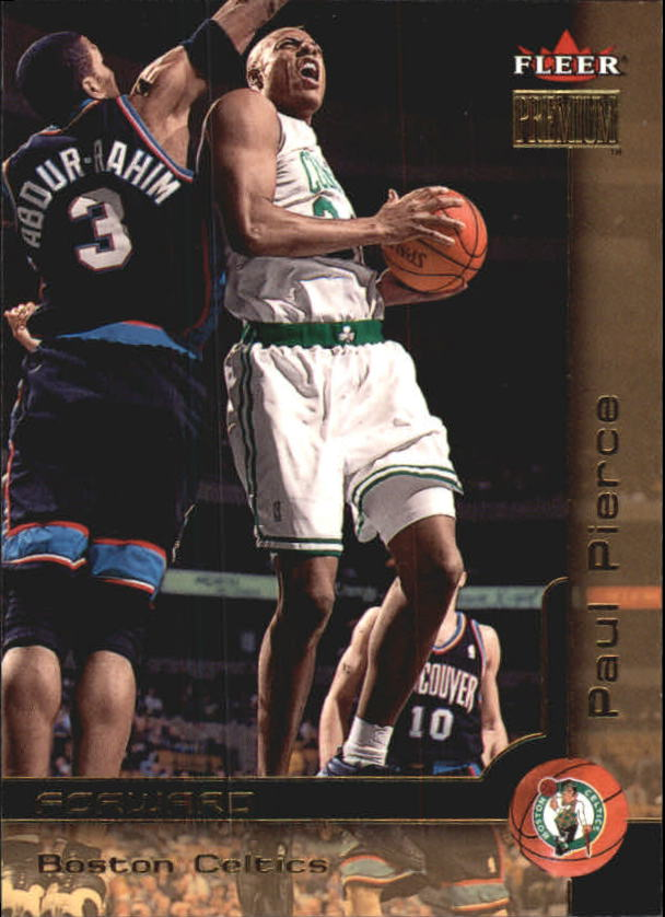 2000-01 Fleer Premium #120 Paul Pierce