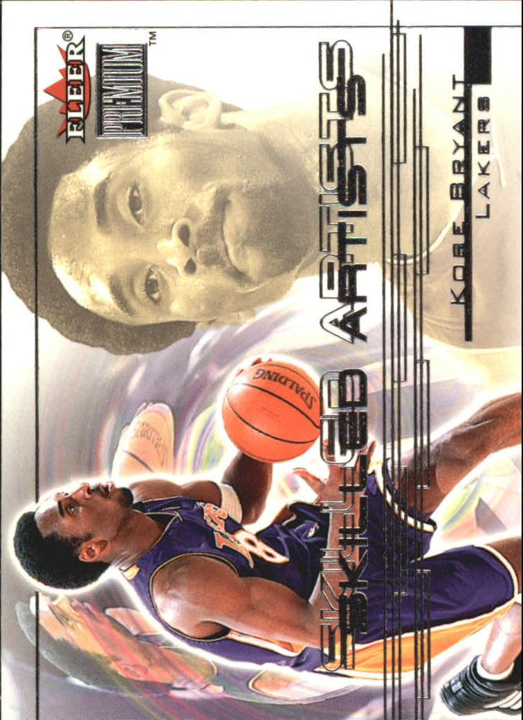 2000-01 Fleer Premium Skilled Artists #SA8 Kobe Bryant
