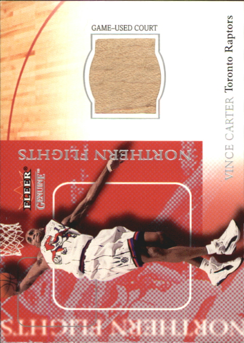 2000-01 Fleer Genuine Northern Flights #NF1 Vince Carter