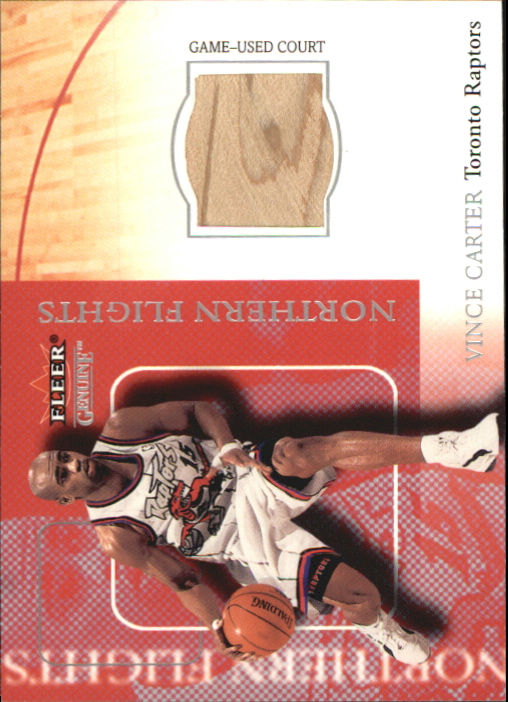 2000-01 Fleer Genuine Northern Flights #NF2 Vince Carter