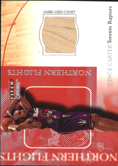 2000-01 Fleer Genuine Northern Flights #NF5 Vince Carter