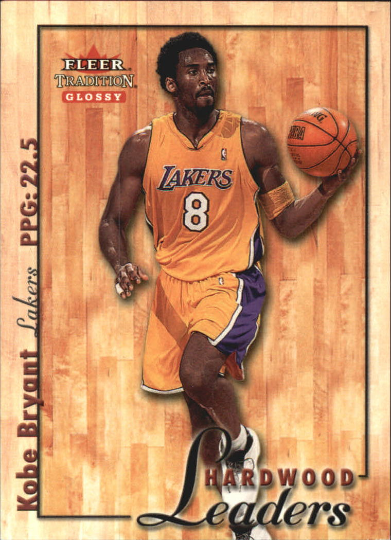 2000-01 Fleer Glossy Hardwood Leaders #HL9 Kobe Bryant