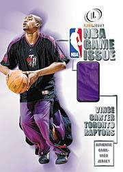 2000-01 Fleer Legacy NBA Game Issue #GI1 Vince Carter