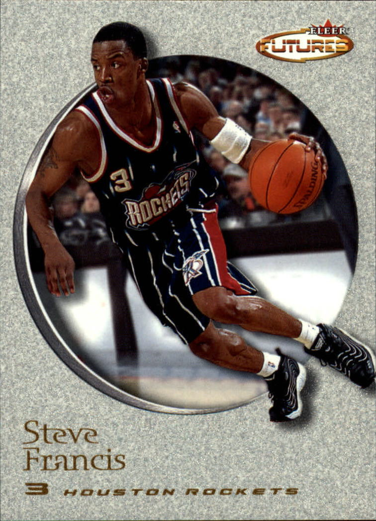 2000-01 Fleer Futures #160 Steve Francis