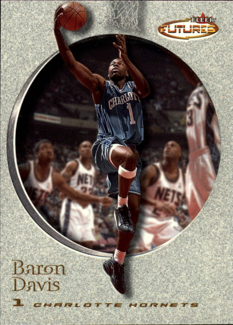 2000-01 Fleer Futures #162 Baron Davis
