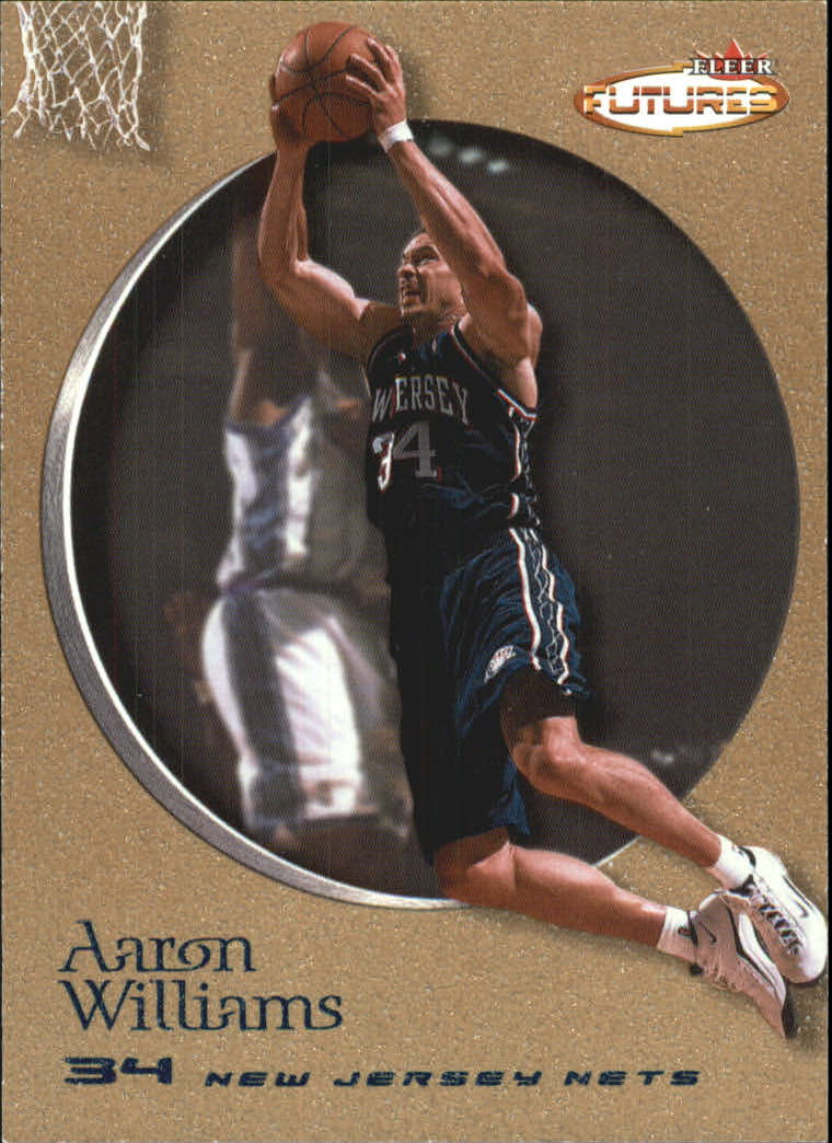 2000-01 Fleer Futures Copper #63 Aaron Williams