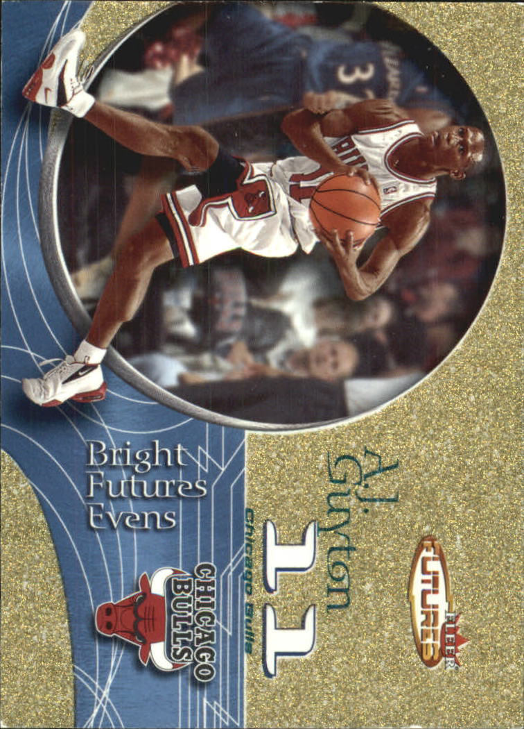 2000-01 Fleer Futures Gold #212 A.J. Guyton