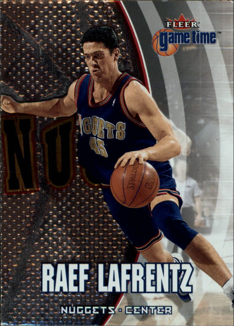 2000-01 Fleer Game Time #2 Raef LaFrentz