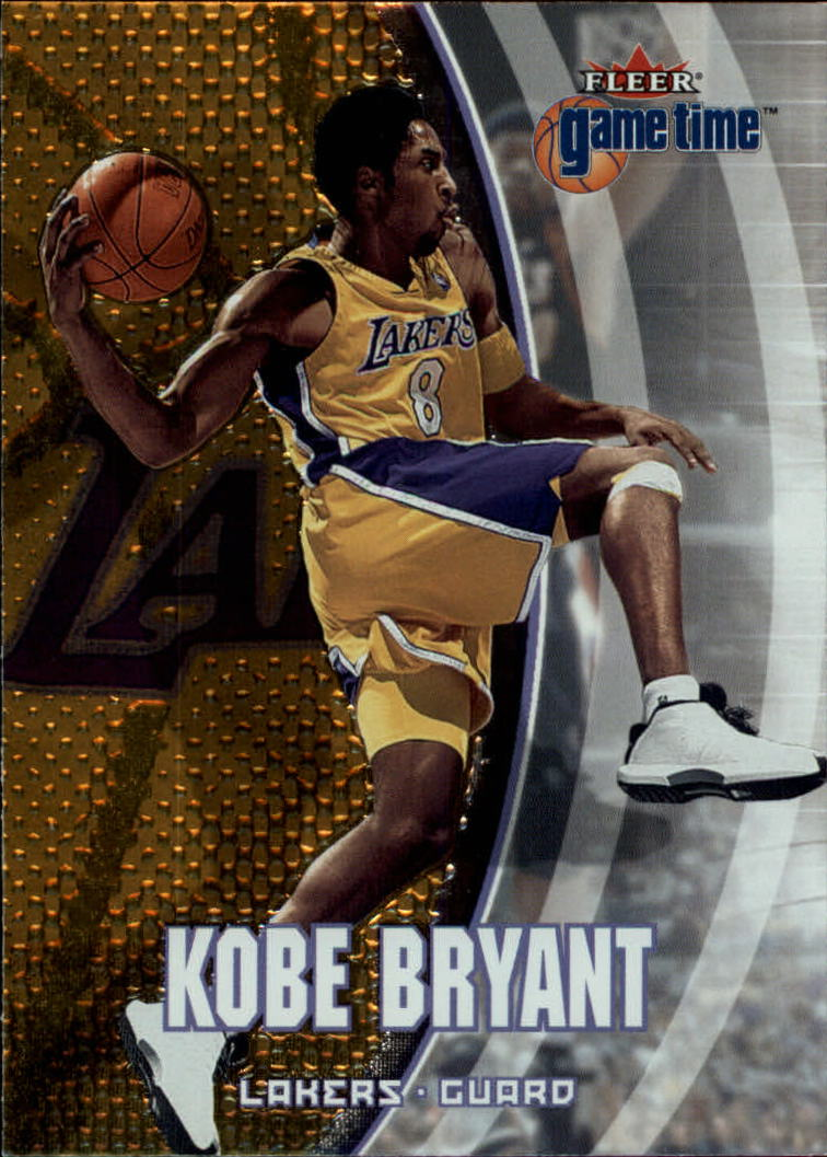 2000-01 Fleer Game Time #3 Kobe Bryant front image