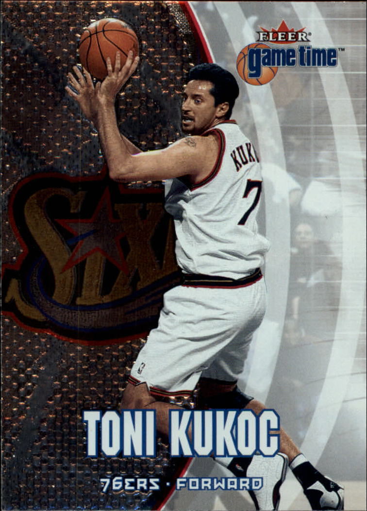 2000-01 Fleer Game Time #4 Toni Kukoc
