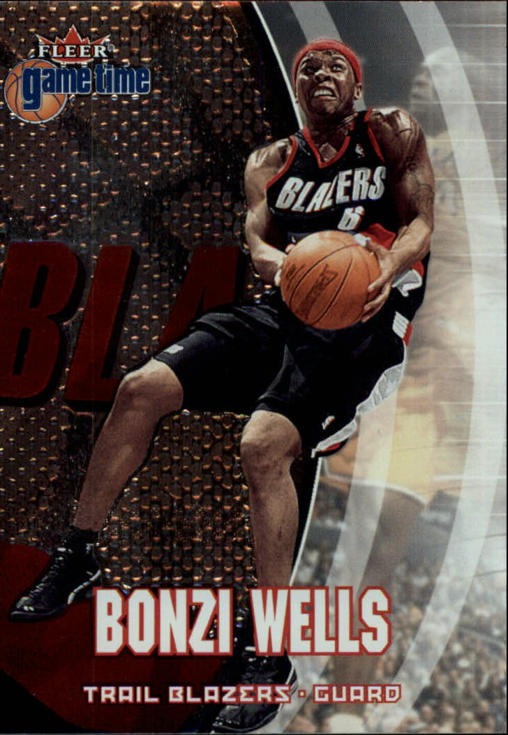 2000-01 Fleer Game Time #5 Bonzi Wells