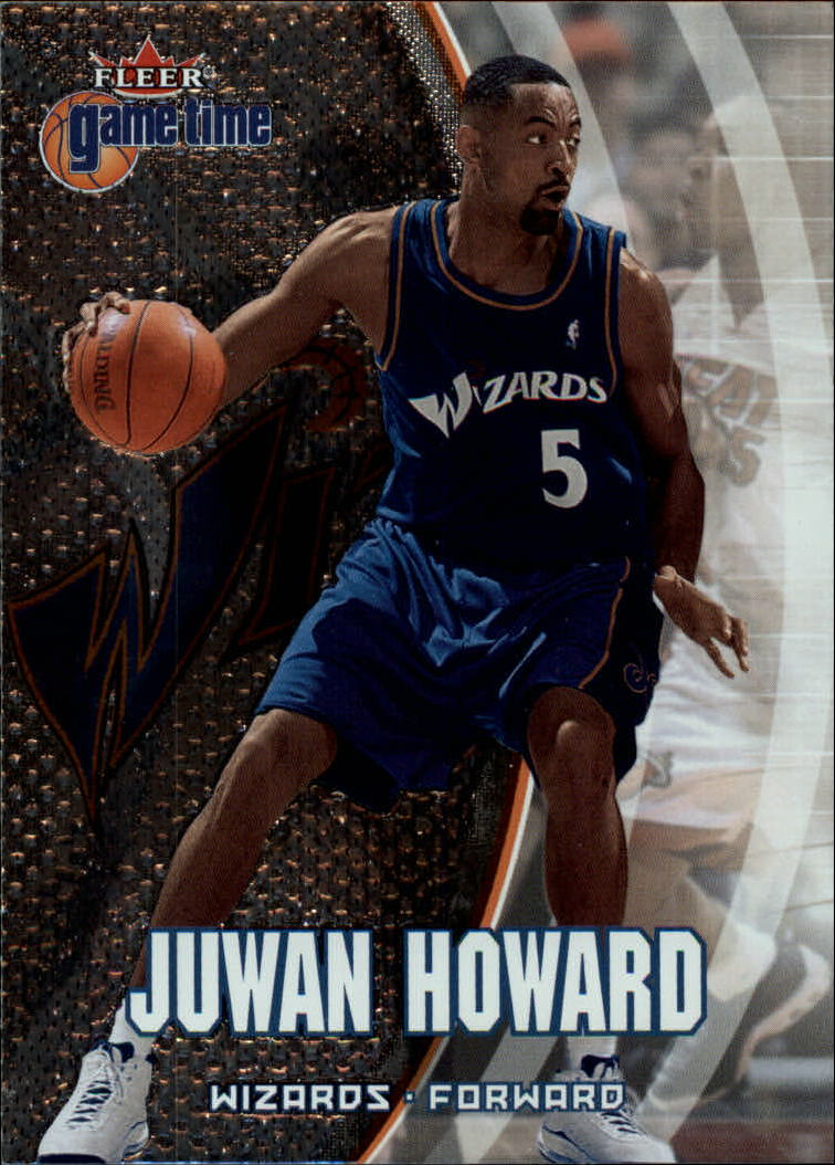 2000-01 Fleer Game Time #8 Juwan Howard