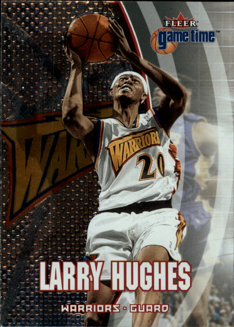 2000-01 Fleer Game Time #11 Larry Hughes