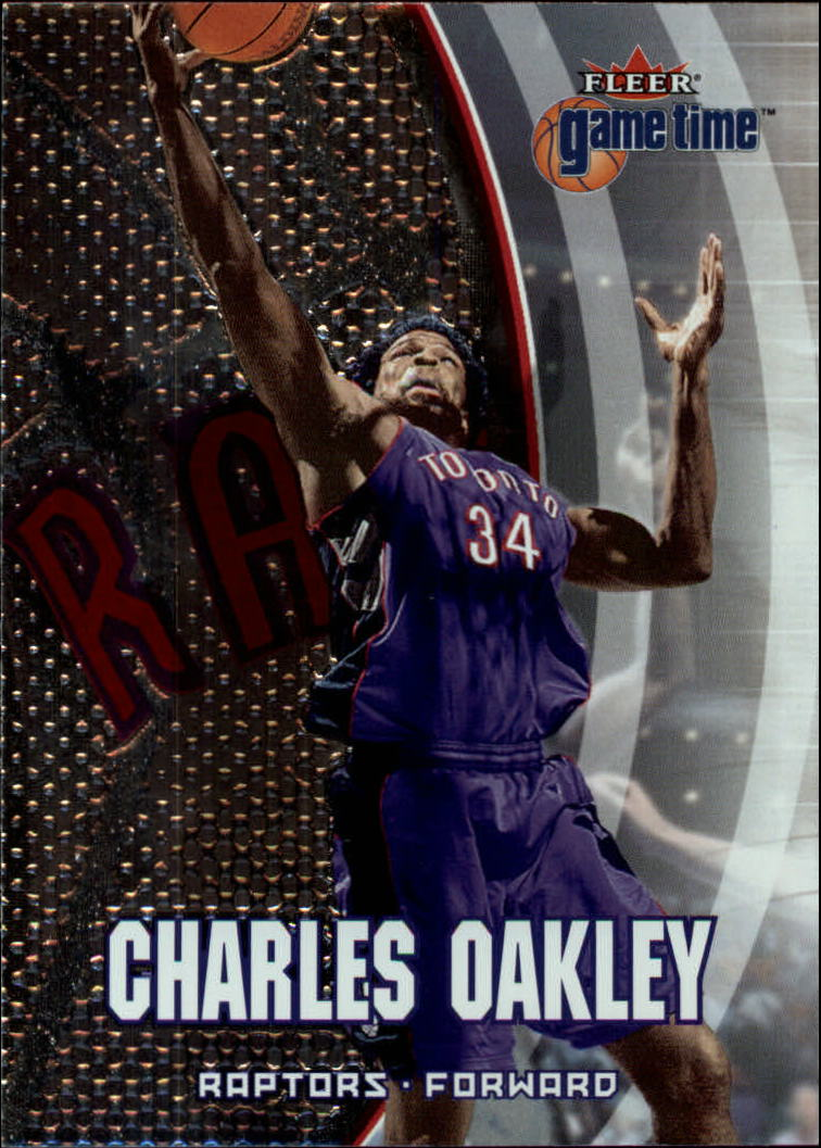 2000-01 Fleer Game Time #13 Charles Oakley