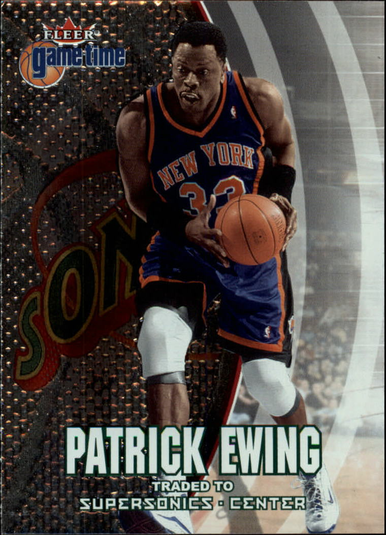 2000-01 Fleer Game Time #14 Patrick Ewing